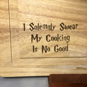 2018 09 11 13.27.41 300x300 - Custom Engraved Solemnly Swear Wood Cutting Board