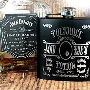 POLY5 300x300 - Engraved Stainless Steel Mad Eye's PolyJuice Potion Harry Potter Inspired Flask