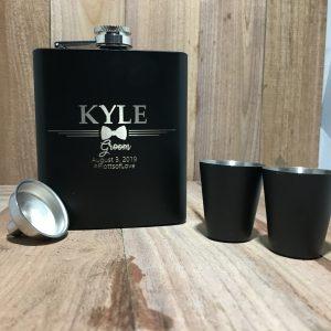 85A721D2 7229 48C1 8D3E FB2E22DC1470 300x300 - Custom Engraved stainless Steel Black Flask