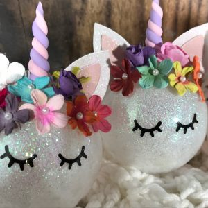 Unicorn03 300x300 - Customizable Unicorn Ornament