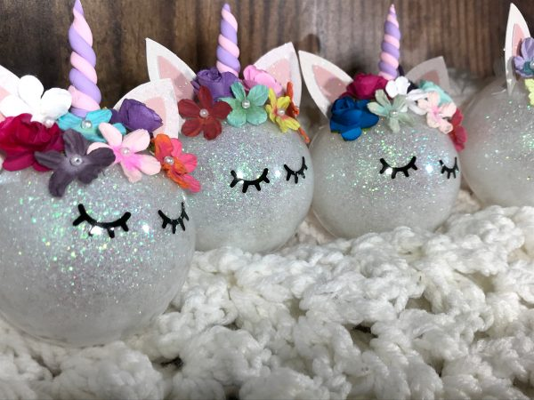 Unicorn04 600x450 - Customizable Unicorn Ornament